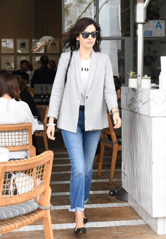 Camilla Belle at Cafe Gratitude in Los Angeles 05/18/2018