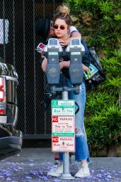 Cara Delevingne Cuddles up to Ashley Benson in West Hollywood 05/26/2018
