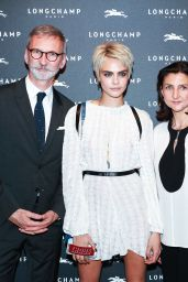 Cara Delevingne - Longchamp Fifth Avenue Store Opening in NYC