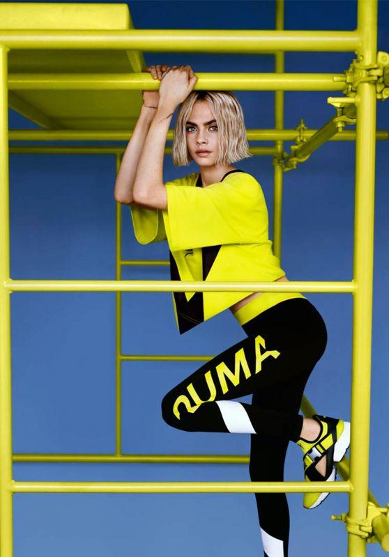 Cara Delevingne - PUMA Photoshoot 2018