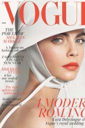 Cara Delevingne - Vogue UK June 2018