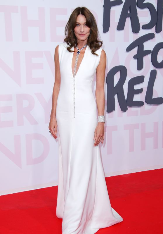 """Carla Bruni – """"Fashion For Relief"""" Charity Gala in Cannes"""