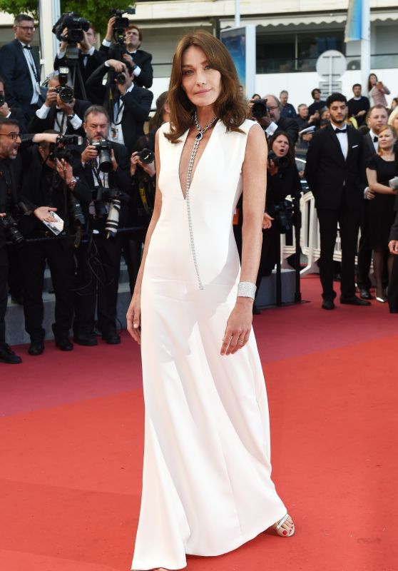 "Carla Bruni-Sarkozy - ""Sink or Swim"" Red Carpet in Cannes"