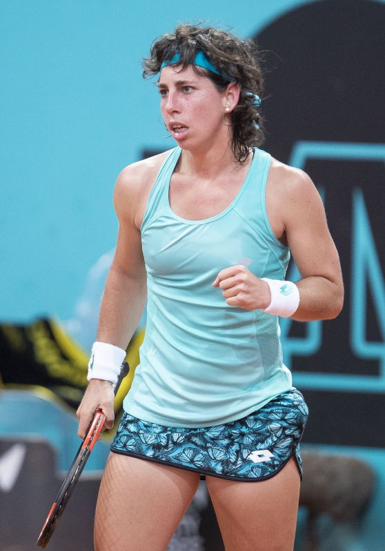 Carla Suarez Navarro - Mutua Madrid Open in Madrid 05/08/2018