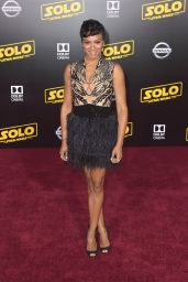 "Carly Hughes – ""Solo: A Star Wars Story"" Premiere in LA"