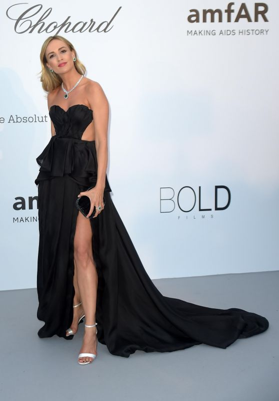 Carmen Jorda – AmfAR's 25th Cinema Against AIDS Gala in Cannes