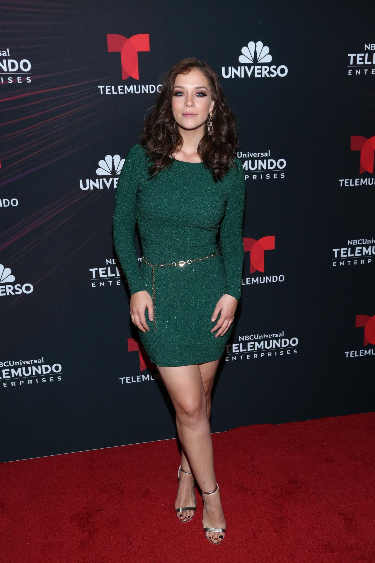 Carolina Miranda 2018 Telemundo Upfront In New York