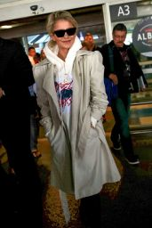 Caroline Daur - Arrives at Nice Airport 05/17/2018