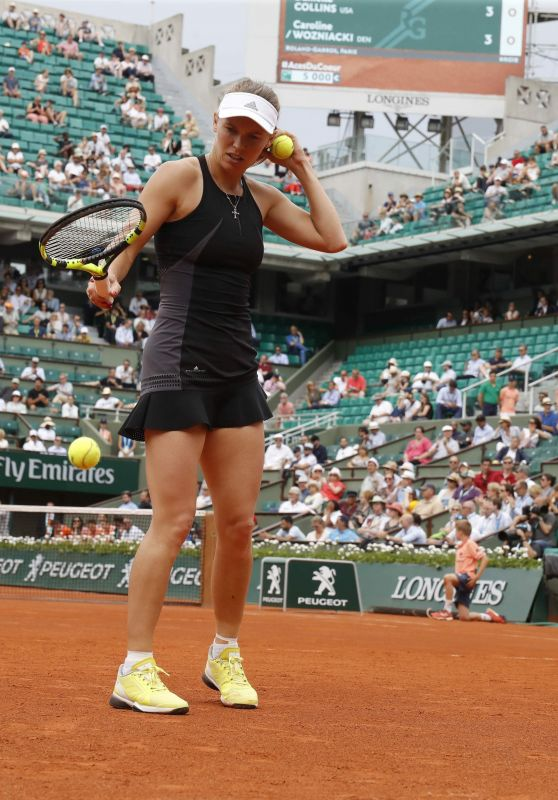 Caroline Wozniacki – French Open Tennis Tournament 2018 in Paris 05/28/2018