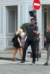 Caroline Wozniacki - Out ain Paris 05/27/2018
