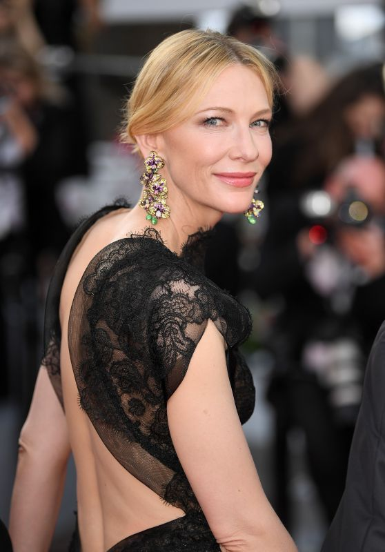 """Cate Blanchett – """"Everybody Knows"""" Premiere and Cannes Film Festival 2018 Opening Ceremony"""