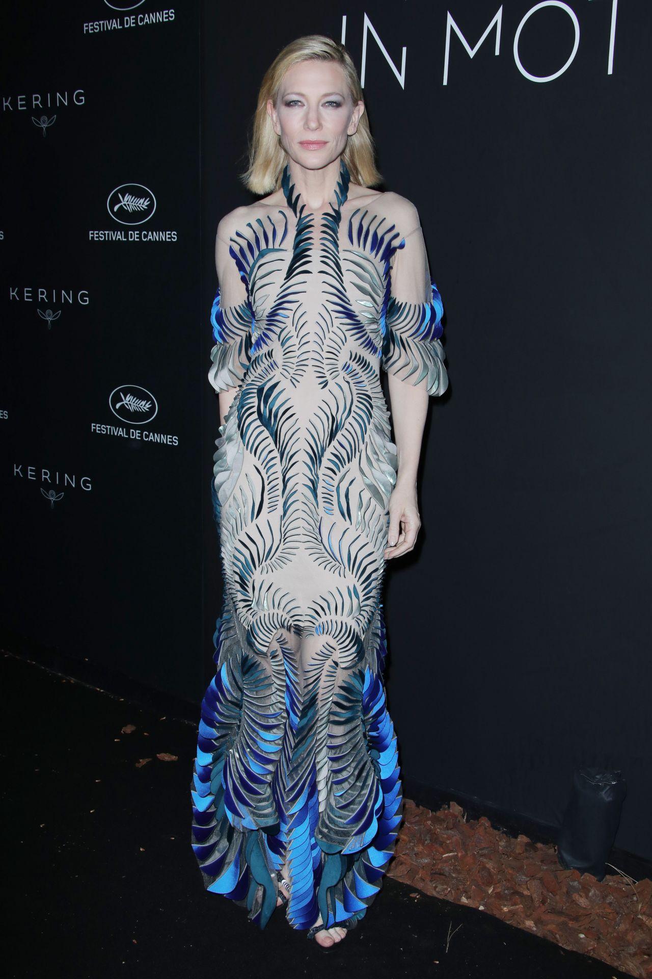 Cate Blanchett Kering Women In Motion Awards Dinner At Cannes Film