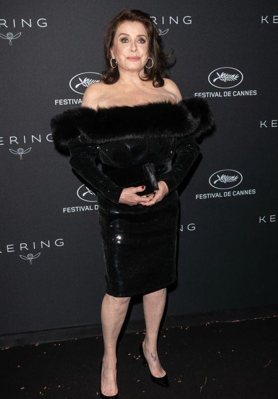 Catherine Deneuve – Kering Women in Motion Awards Dinner at Cannes Film Festival 2018