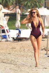 Catherine Tyldesley in Swimsuit in Abu Dhabi 05/05/2018