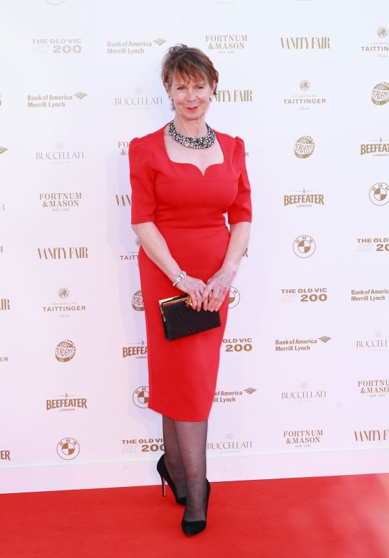 Celia Imrie – The Old Vic Bicentenary Ball 2018