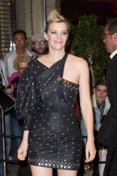 Céline Sallette at the Marriott Hotel for the Dior Dinner in Cannes