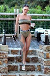 Chantelle Connelly in Bikini on Holiday in Marbella 05/15/2018