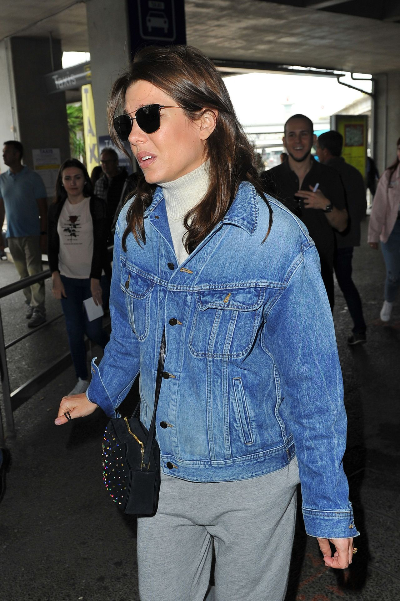Charlotte Casiraghi At Nice Airport 05 09 2018
