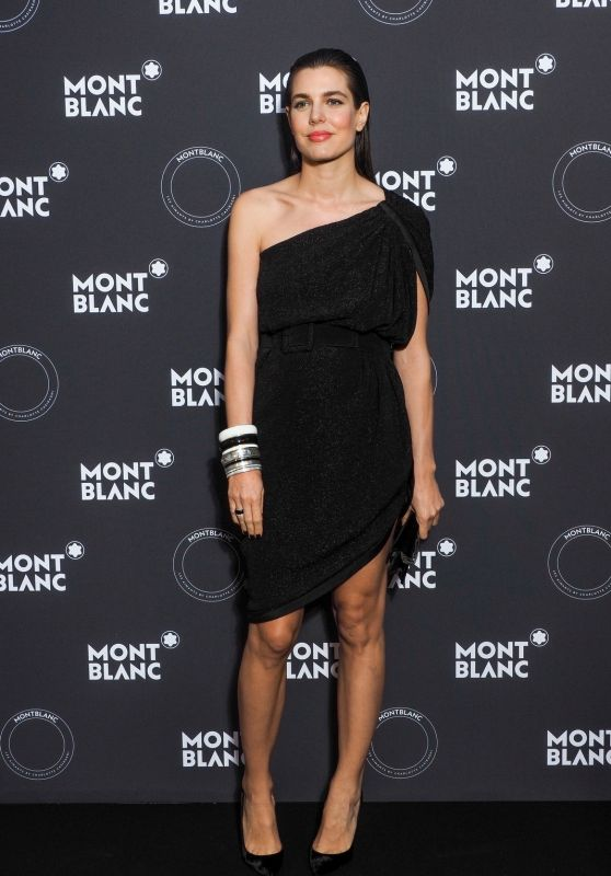 Charlotte Casiraghi – Dinner Montblanc in Cannes 05/16/2018