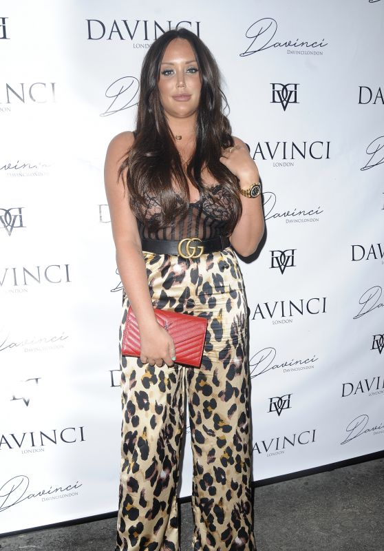 Charlotte Crosby - DaVinci London Collection Launch Party 05/24/2018