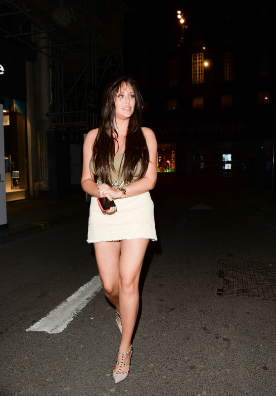 Charlotte Crosby Night Out - Libertine Club in London 05/09/2018