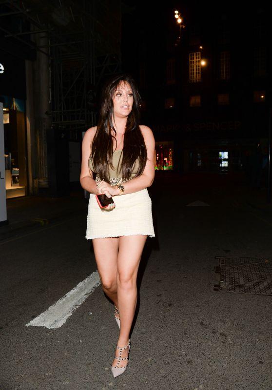 Charlotte Crosby Night Out - Libertine Club in London 05/09/2018