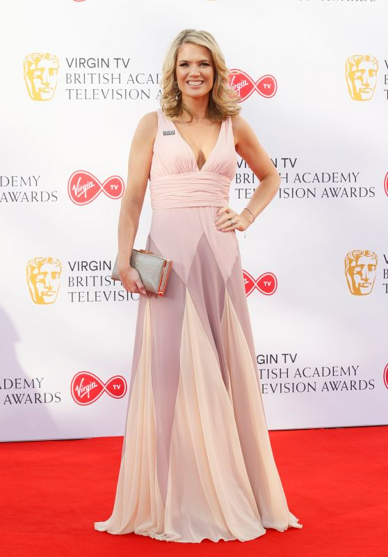 Charlotte Hawkins – BAFTA TV Awards 2018 in London