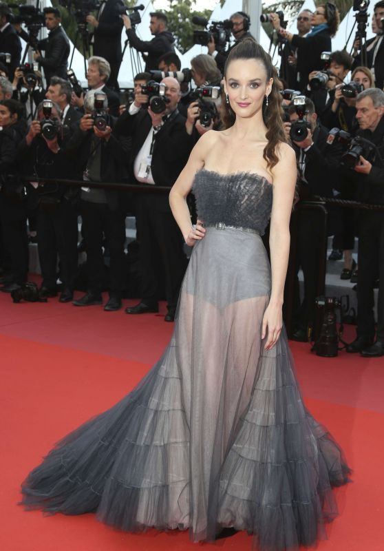 "Charlotte Le Bon – ""BlacKkKlansman"" Red Carpet in Cannes"