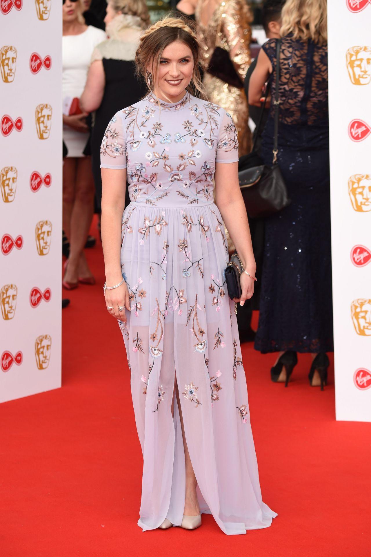 Chelsea Halfpenny Bafta Tv Awards 2018 In London