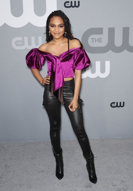 China Anne McClain – CW Network Upfront Presentation in NYC 05/17/2018