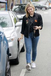 Chloe Grace Moretz Casual Style - Out in West Hollywood 05/24/2018