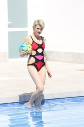Chloe Jasmine in Swimsuit Having Fun Poolside in Cape Verde 05/04/2018