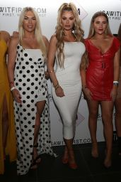 Chloe Sims - ISAWITFIRST Demi Rose Collection Launch at STK Ibiza 05/28/2018