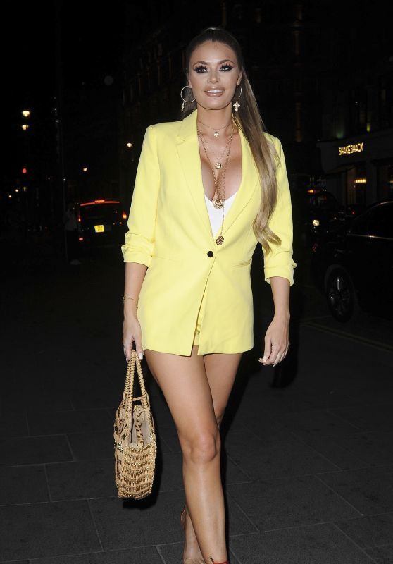 Chloe Sims – Quiz x TOWIE Launch Party in London 05/10/2018