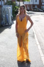 """Chloe Sims – """"The Only Way Is Essex"""" Filming an Arabian Nights Theme in Brentwood"""