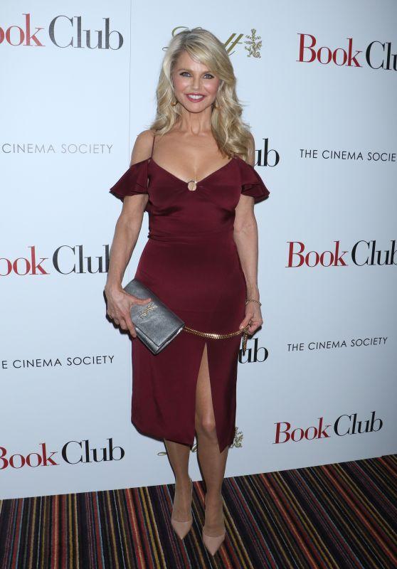 """Christie Brinkley – """"Book Club"""" Screening in New York 05/15/2018"""