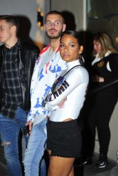 Christina Milian and Matt Pokora - Catch LA in West Hollywood 05/27/2018