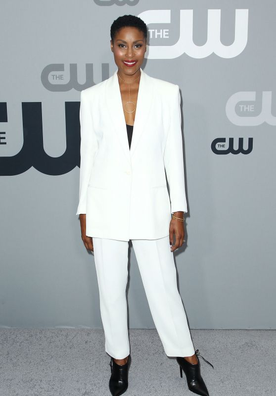Christine Adams – CW Network Upfront Presentation in NYC 05/17/2018