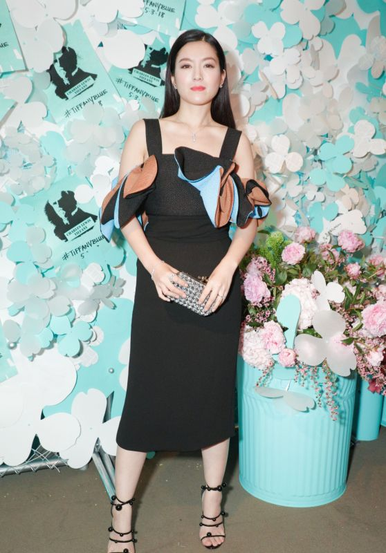 Christine Kuo – Tiffany & Co. Jewelry Collection Launch in NY 05/03/2018