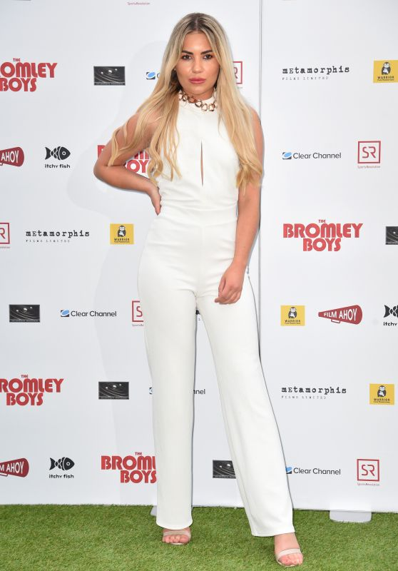 "Chyna Ellis – ""Bromley Boys"" World Premiere in London"