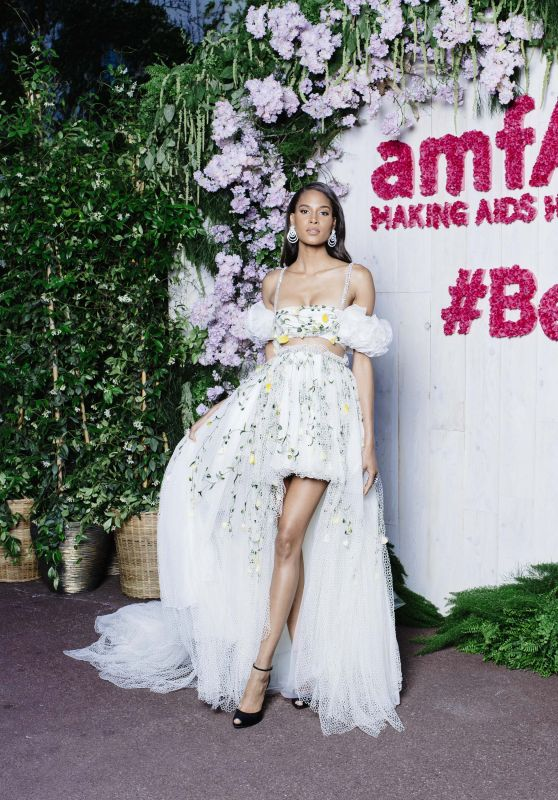 Cindy Bruna – AmfAR's 25th Cinema Against AIDS Gala in Cannes
