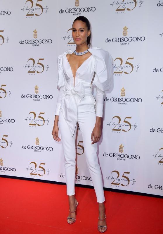 Cindy Bruna – Grisogono Party in Antibes 05/15/2018