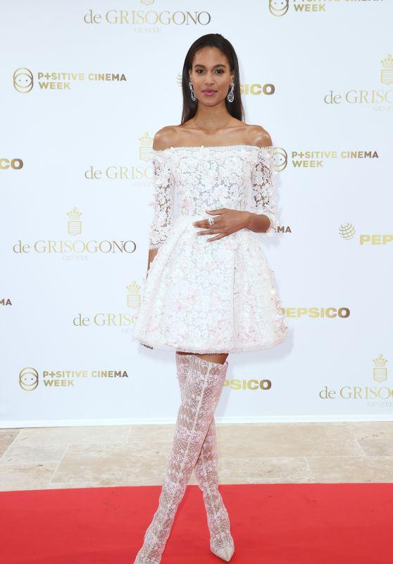 Cindy Bruna – Semaine du Cinema Positive by Positive Planet Diner in Cannes 05/14/2018