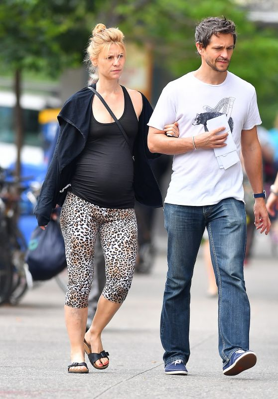 Claire Danes and Hugh Dancy - Out in New York City 05/29/2018