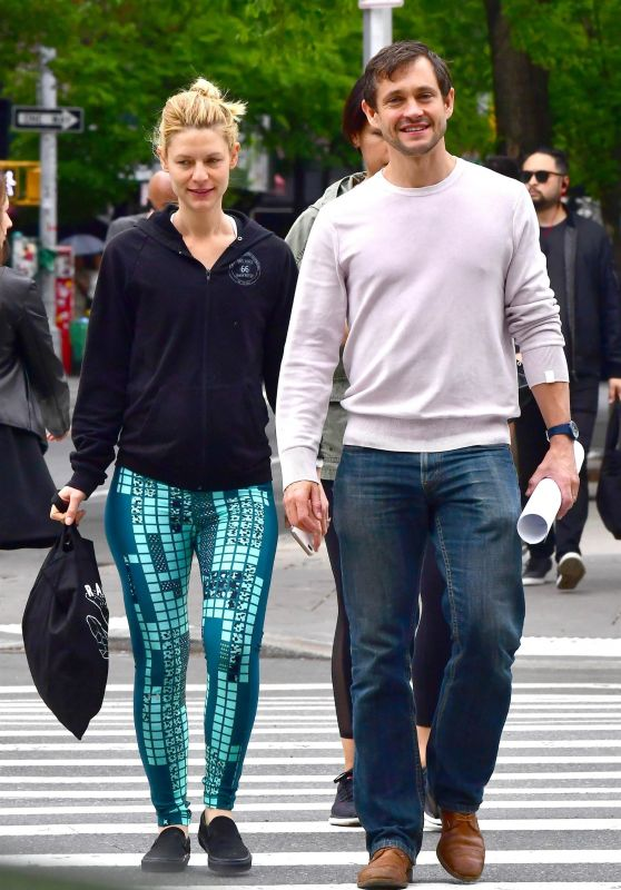 Claire Danes and Husband Hugh Dancy - West Village in NYC 05/16/2018