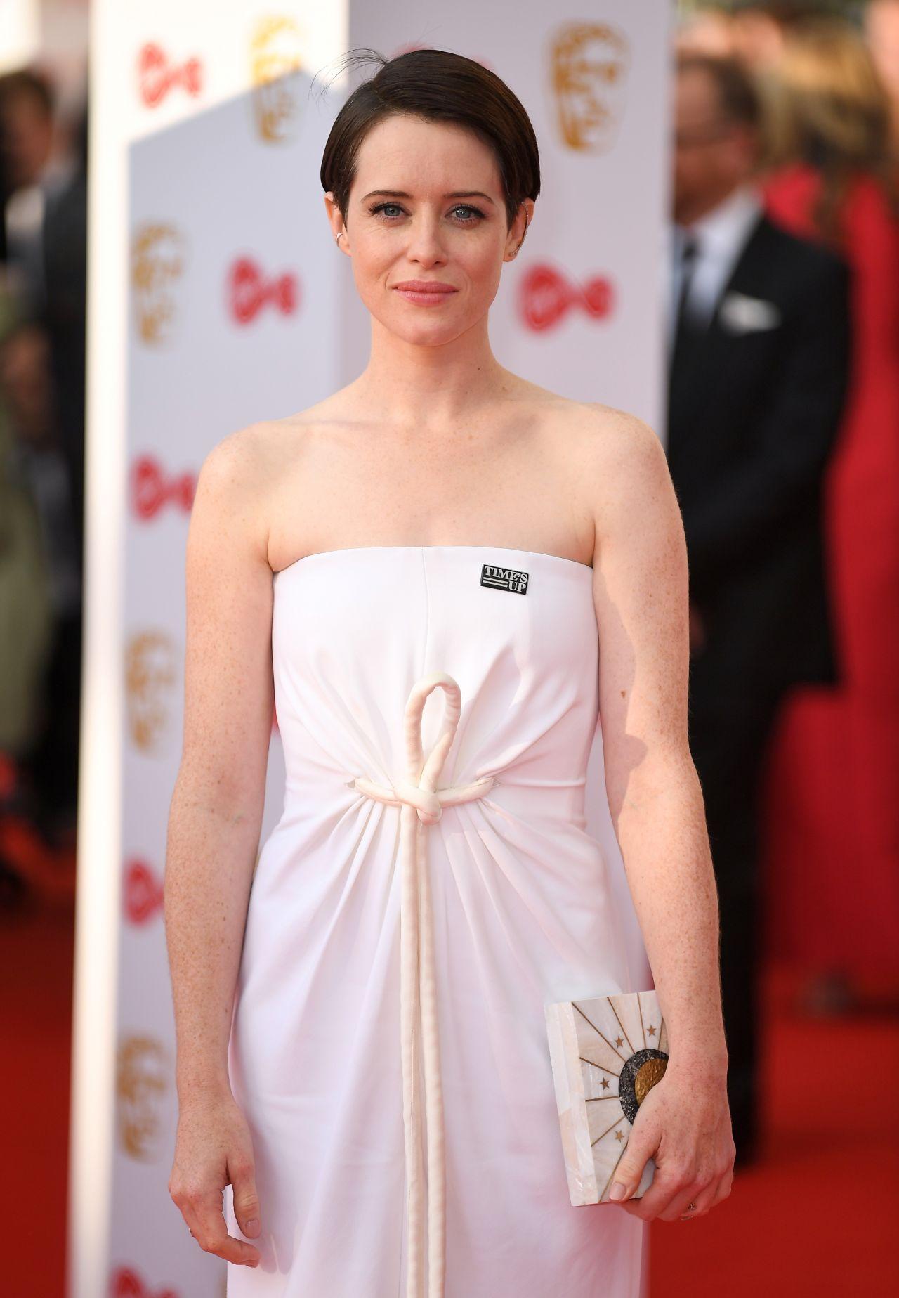 Claire Foy Bafta Tv Awards 2018 In London