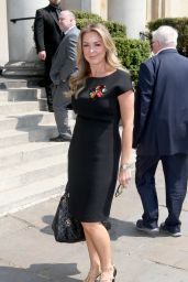 Claire Sweeney – Dale Winton's Funeral in London