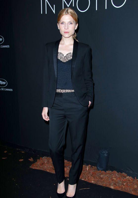 Clémence Poésy – Kering Women in Motion Awards Dinner at Cannes Film Festival 2018