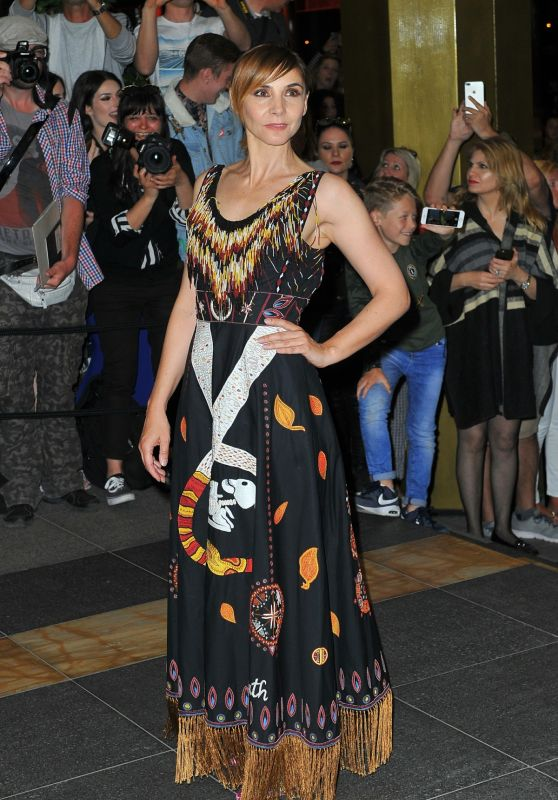 Clotilde Courau at the Marriott Hotel for the Dior Dinner in Cannes
