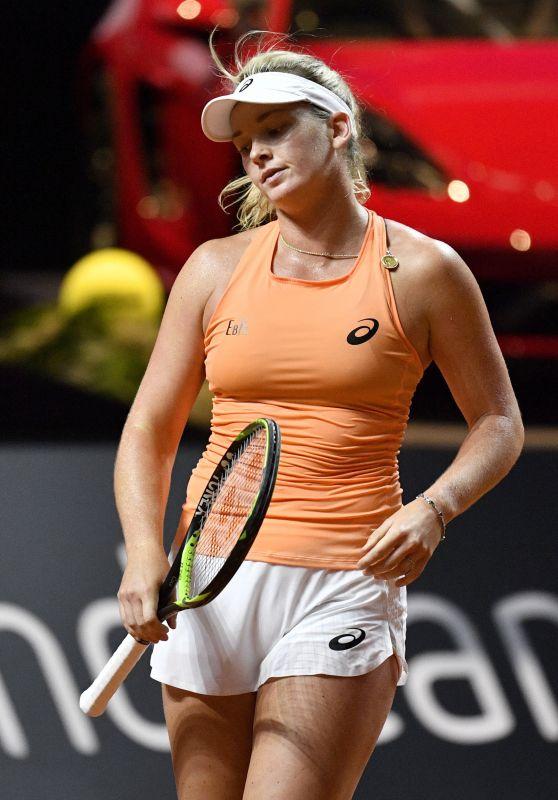 Coco Vandeweghe - Porsche Tennis Grand Prix in Stuttgart 04/29/2018